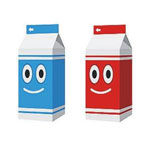 Custom Milk Cartons